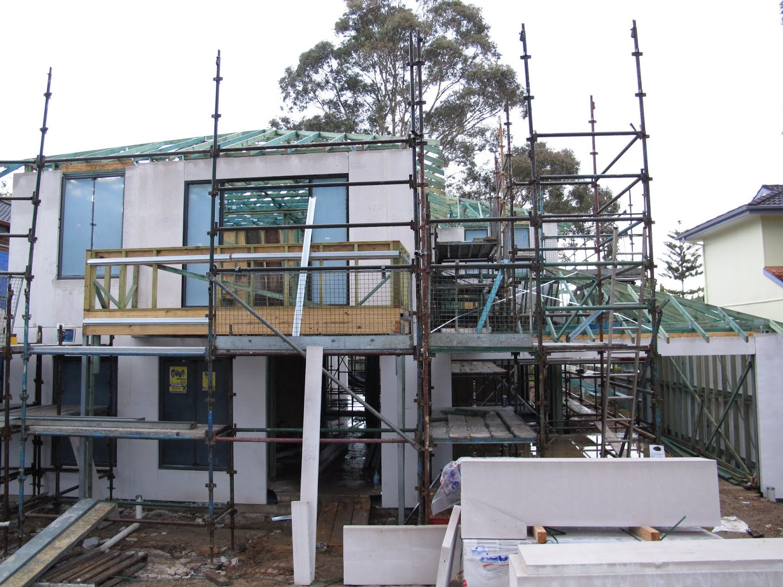 Our metricon nolan 41 journey kitchen and vanity cabinetry - Our Metricon Nolan 41 Journey Scaffolding Installed Download
