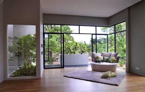gambar tata ruang minimalis modern