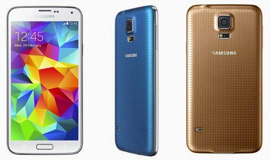 Harga Dan Spesifikasi Samsung Galaxy S5 Bulan Januari 2015