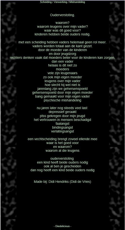 gedicht eerste keer
