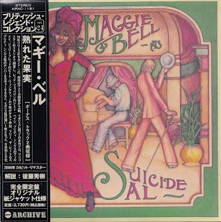 MAGGIE BELL - SUICIDE SAL (POLYDOR 1975) Jap mastering cardboard sleeve + 2 bonus