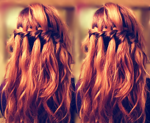 waterfall braids picture