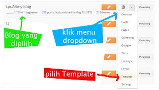 Screenshot 1 - Cara Memfilter Komentar Kotor di Blogger