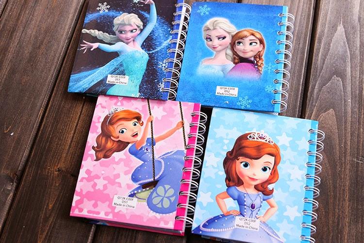 Des étiquettes Princesse Sofia et Frozen pour l'Académie Royale #BackToSchool #DIY