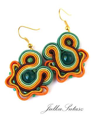 *Amonute – green* mini Earrings