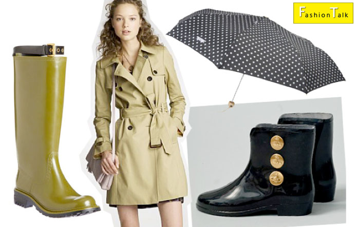 Current Fashion Trends: Fashionable Rain attire - Rain Jackets and