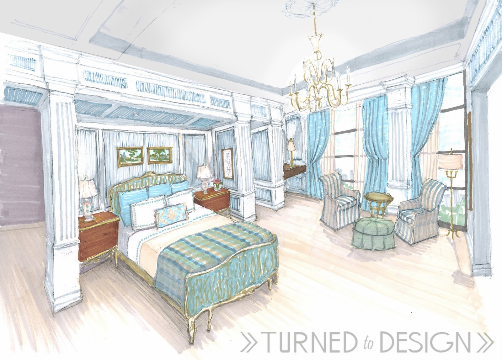Bedroom drawing with color - 60 Best Bedroom Colors Modern Paint Color Ideas For