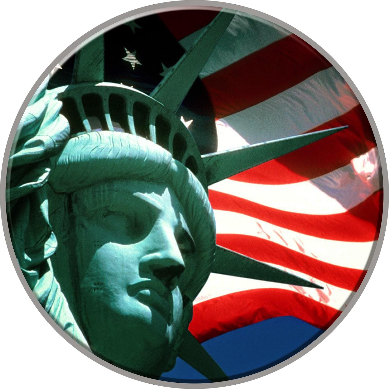 Cover Ban Mobil Gambar Patung Liberty
