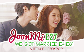 We Got Married S4 - JoonMi, SoHan