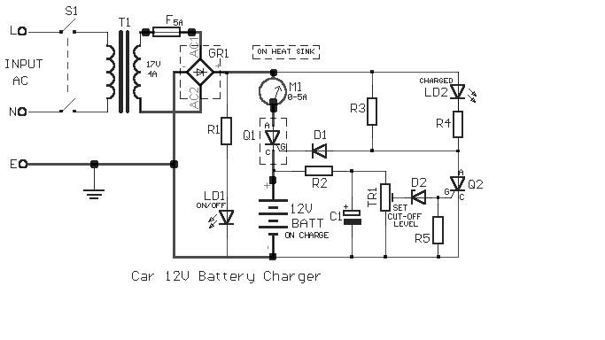 lilik windarto  charger accu 12 v
