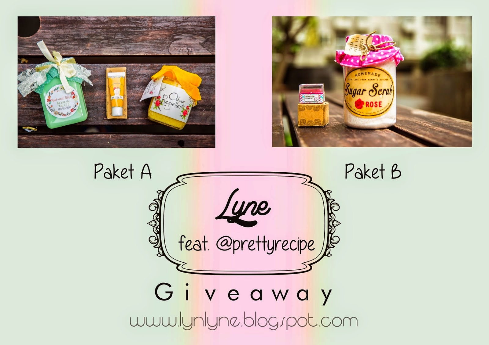 Lyne Giveaway Feat Pretty Recipe