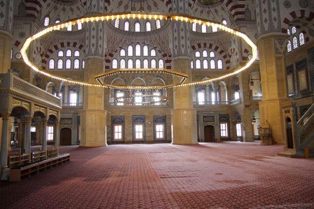 Adana Sabancı Merkez Camii İçi