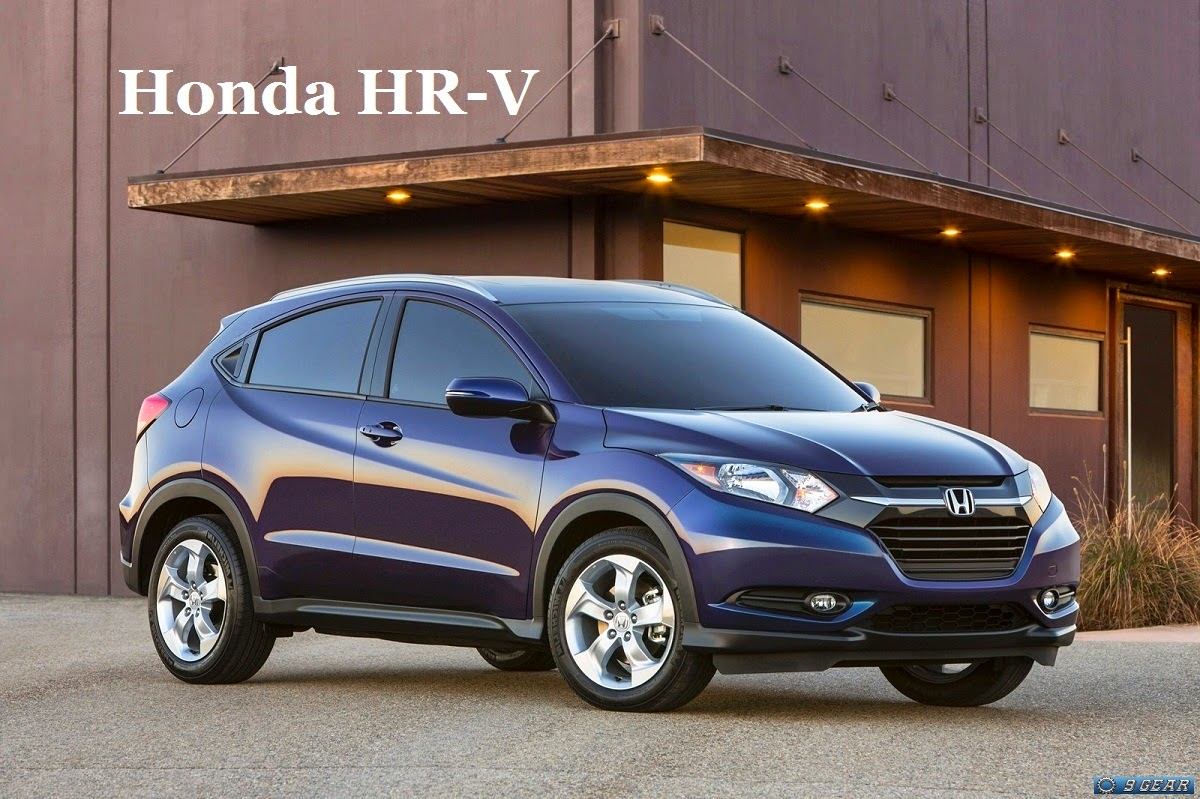 2015 honda hr v suv to arrive in showrooms this winter car reviews new car pictures for 2018. Black Bedroom Furniture Sets. Home Design Ideas