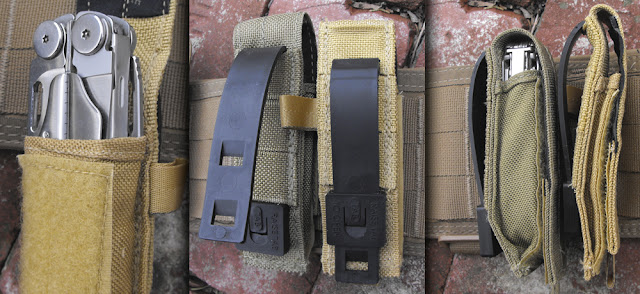 Multi-Tool Pouch with Leatherman Wave