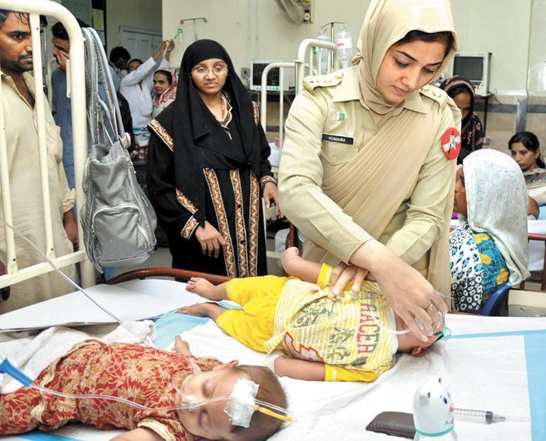 Pakistan Army Female Doctors In Hijab | Hijab Styles