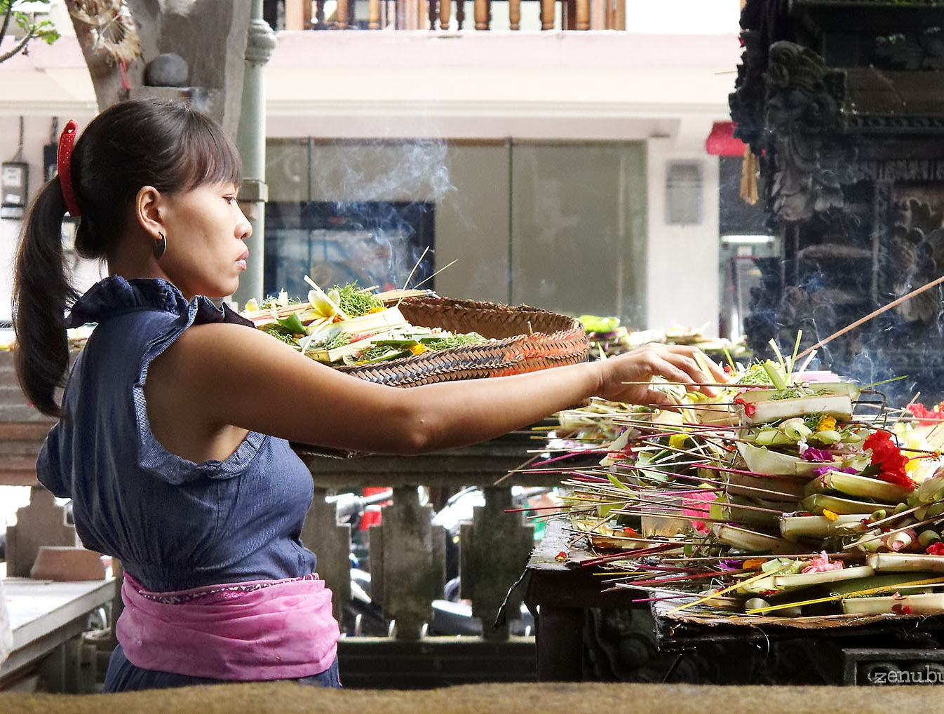 Basket Weaving Ubud : Best place in bali indonesia