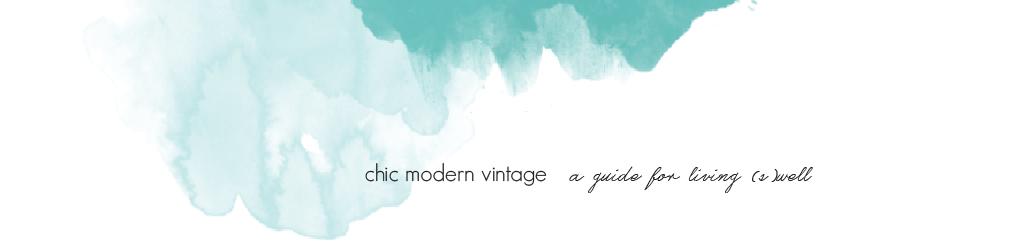 chic modern vintage