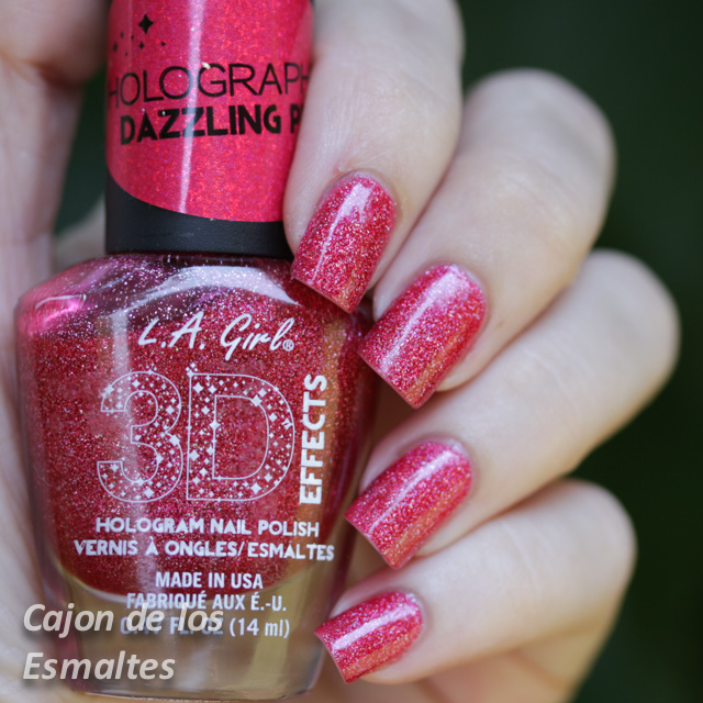 L.A. Girl 3D effects - Dazzling Pink