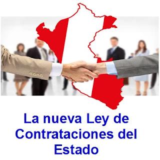 La nueva Ley de Contrataciones del Estado