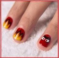 Anger Nail Design.