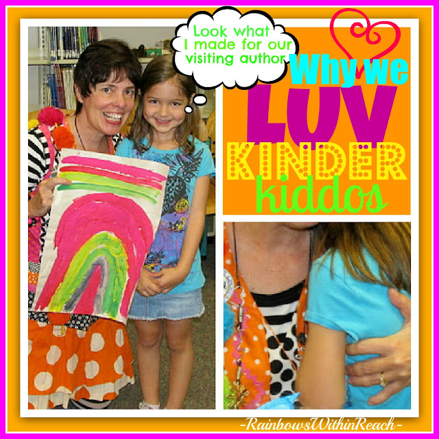 photo of: Kindergarten LUV and lessons, Author Visit Impact at Elementary School