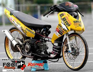 Modif Yamaha New Vision