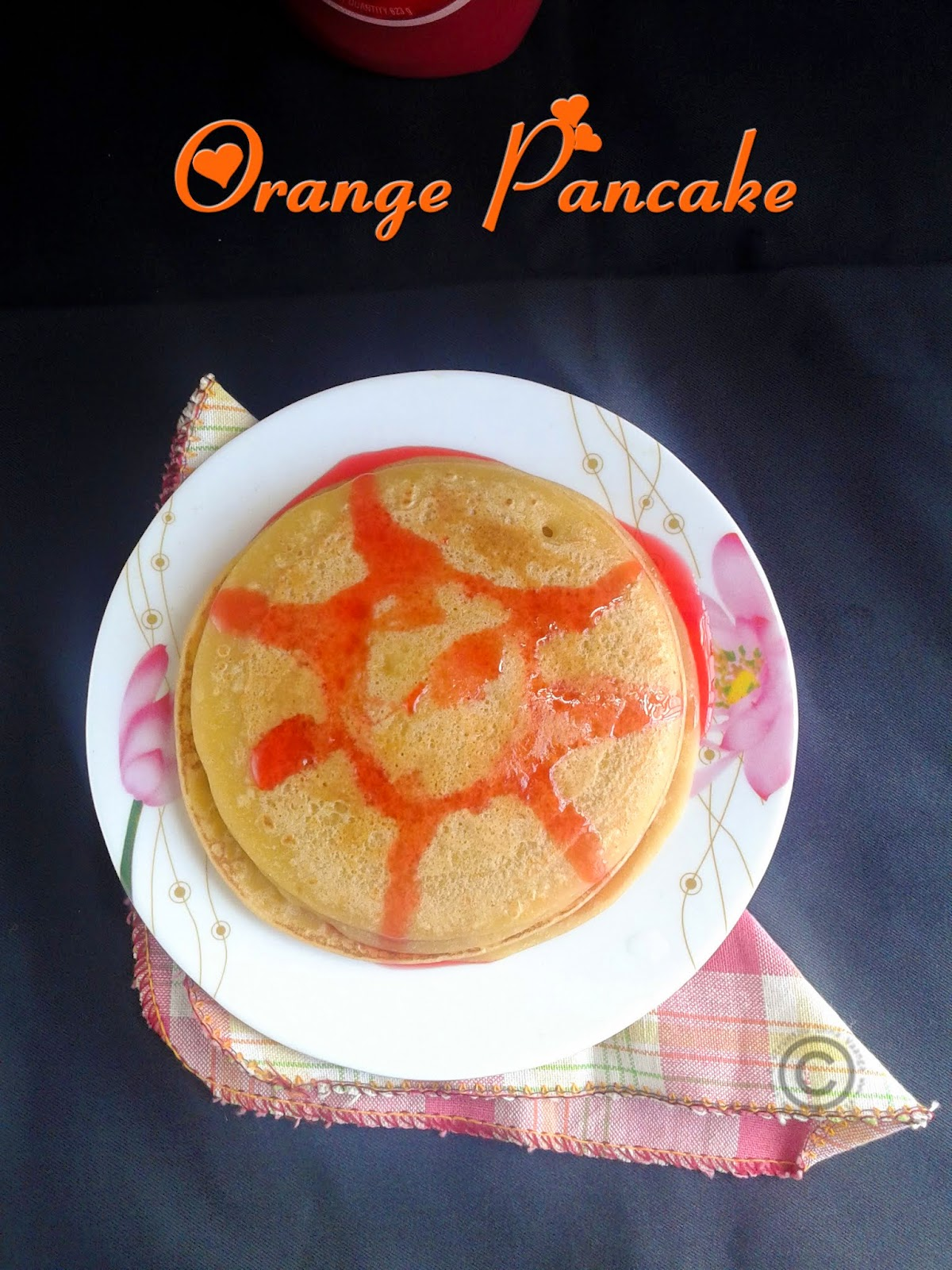 Orange-juice-pancake-breakfast