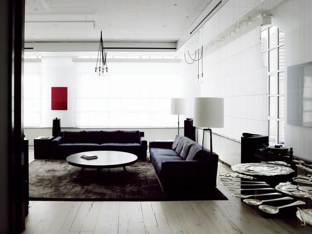 Manhattan loft interiors and design less ordinary for Interior decorator manhattan