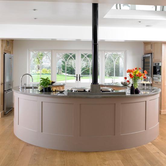 Latest Kitchen Island Designs: New Home Interior Design: Kitchen Islands