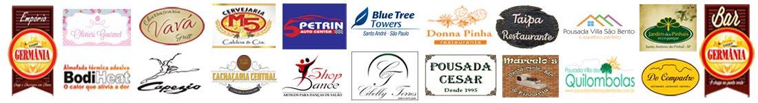 Empresas parceiras participantes da campanha Fidelidade.