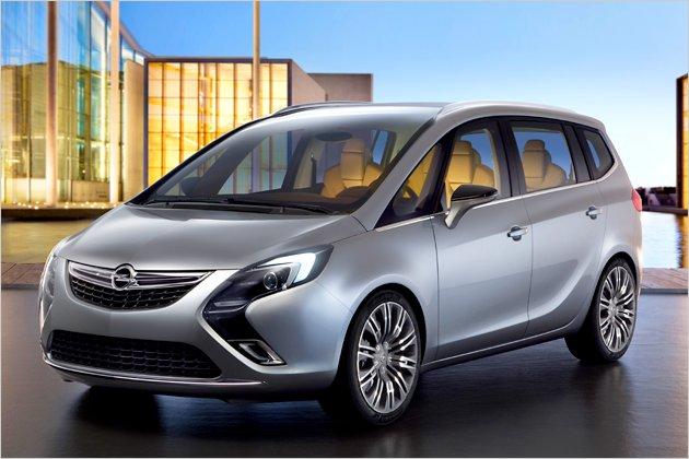 Looks Like A Car 2012 Opel Zafira Looks To The Future Study Shows