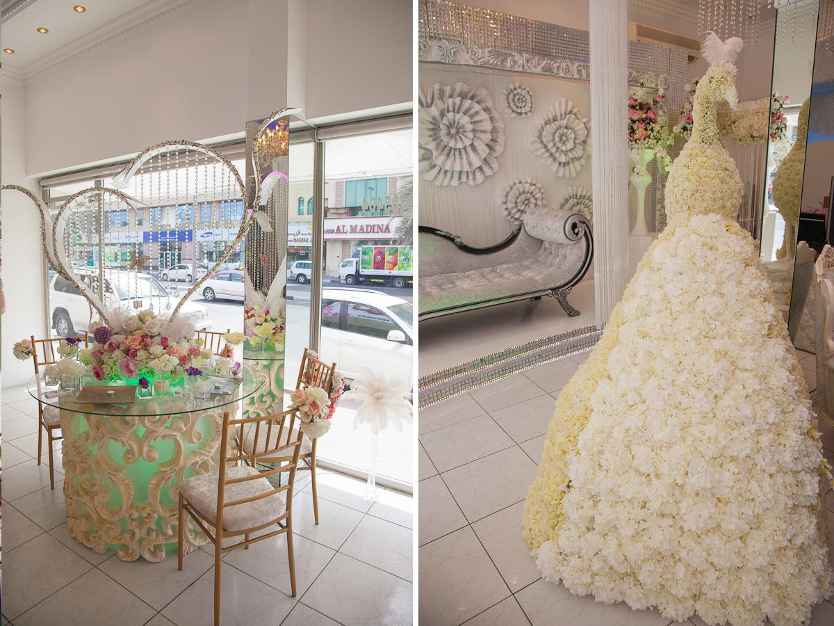 За время отдыха в ОАЭ я посетила несколько свадебных салонов, начиная от бутиков эконом-класса, заканчивая VIP-сегментом