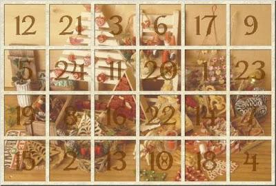 calendario de adviento francés