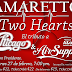AMARETTO TWO HEARTS, EL TRIBUTO A CHICAGO & AIR SUPPLY.
