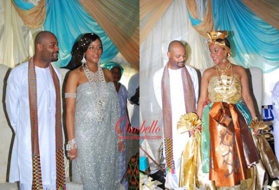 anita alex ibru weds ghanaian marcel kouassigan welcome