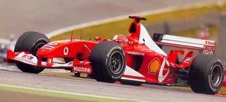 Formula 1 2003 Michael Schumacher/ Ferrari