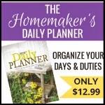 Homemaker Planner