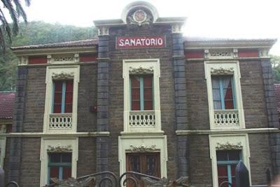 Mieres, Bustiello, sanatorio