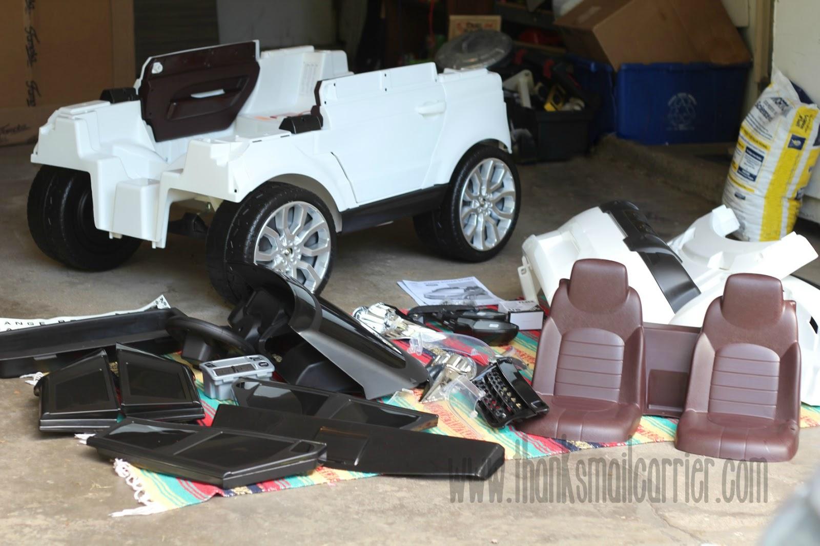 Feber Range Rover assembly