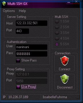 Multi SSH Update GX