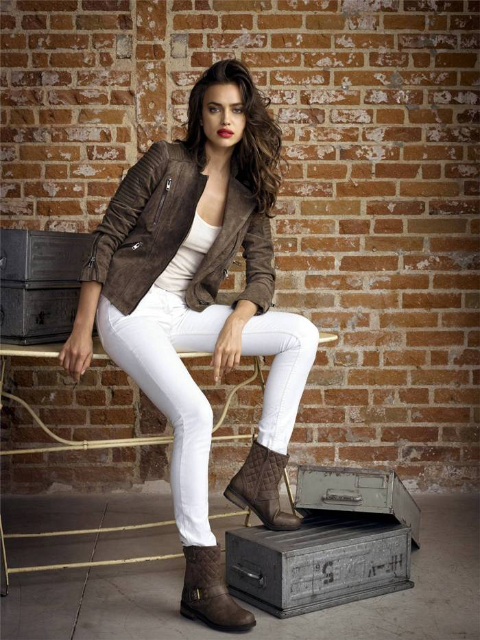 Irina Shayk — Xti Footwear Photoshoot