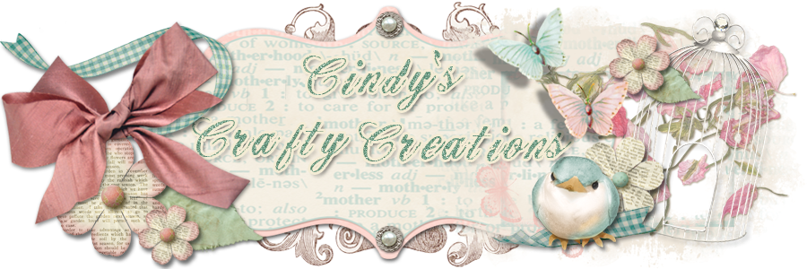 Cindy's Crafty Creations !!!