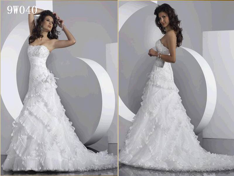 Wedding Dresses Different Styles - High Cut Wedding Dresses