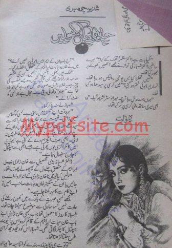 Chalo Badbaan Kholain Novel