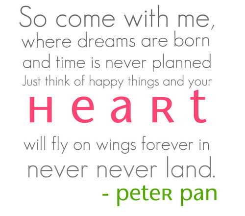 Peter Pan Quotes thumb