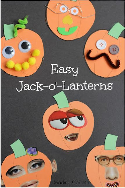 http://www.readingconfetti.com/2013/09/jack-o-lantern-collages-preschool-craft.html#more