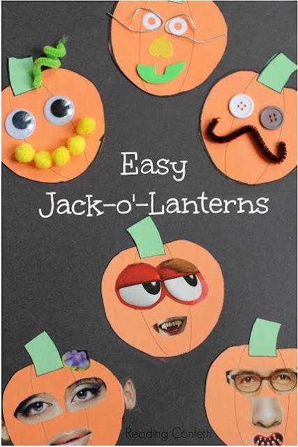 http://www.readingconfetti.com/2013/09/jack-o-lantern-collages-preschool-craft.html#more