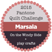 Pantone Quilt Challenge 2015