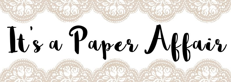 "<p align=""center"">It&#39;s A Paper Affair</p>"