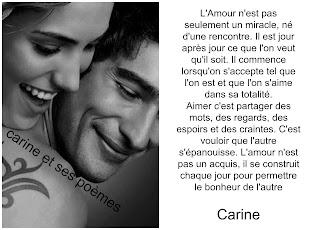 Je laisse juste parler mon cœur  par des poèmes d'amour, car l'amour, on ne se le cache pas, On est amoureux, L'amour appelle l'amour, de nuit comme de jour.